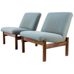 Yngve Ekström Low Back Lounge Chair for Pastoe, Set of Two