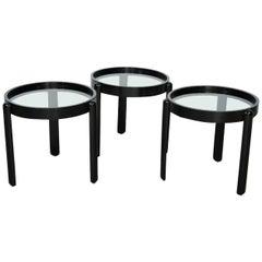 Smoked glass tables 391 for sale at 1stdibs for Porada arredi