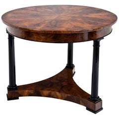 Biedermeier Salon Table, 1820s