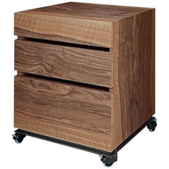 """Tecnica"" Castored Walnut Drawers Unit Designed by Jaume Tresserra for Dessie'"