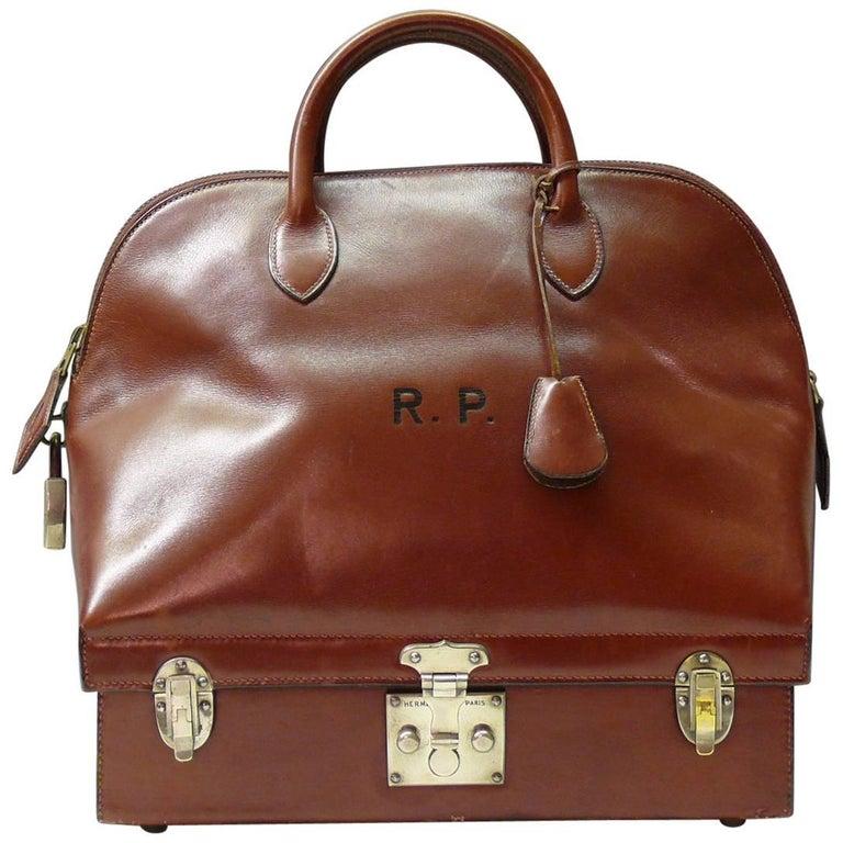 Rare Hermes Mallette Bag c1935