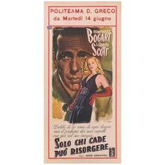 """""""Dead Reckoning / Solo Chi Cade Puo Risolvere"""" Original Italian Movie Poster"""