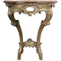 Antique French Console Table, circa 1790-1810