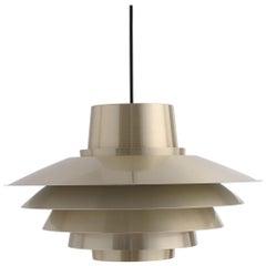 """Verona"", Danish Pendant Lamp by Svend Middelboe"