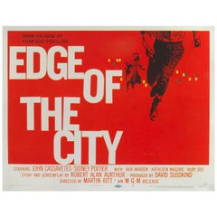 """Edge of the City"" Original US Movie Poster"