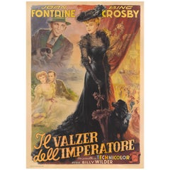 """The Emperor Waltz / Il Valzer dell'Imperatore"" Original Italian Movie Poster"