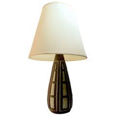 Modernist Stoneware Table Lamp