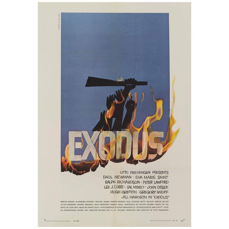 """Exodus"", Original US Movie Poster"