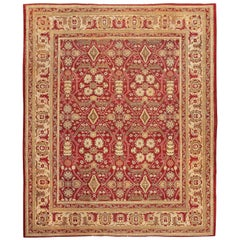 Antique Room Size Indian Amritsar Rug