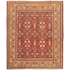 Antique Room Size Indian Amritsar Rug