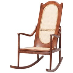 American Rocking Chair Mahogany, 1890