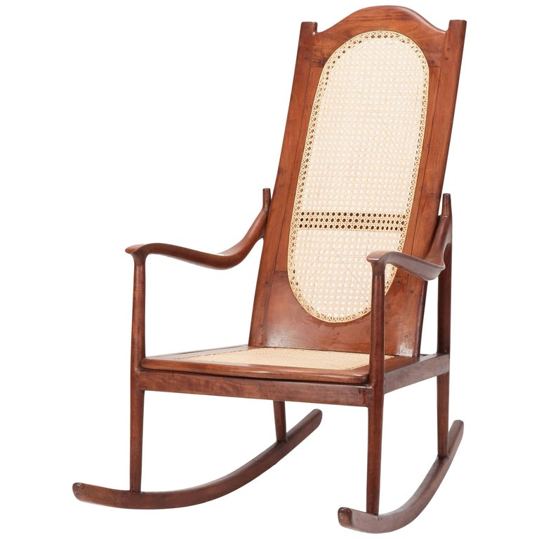american rocking chair mahogany 1890 for sale at 1stdibs. Black Bedroom Furniture Sets. Home Design Ideas