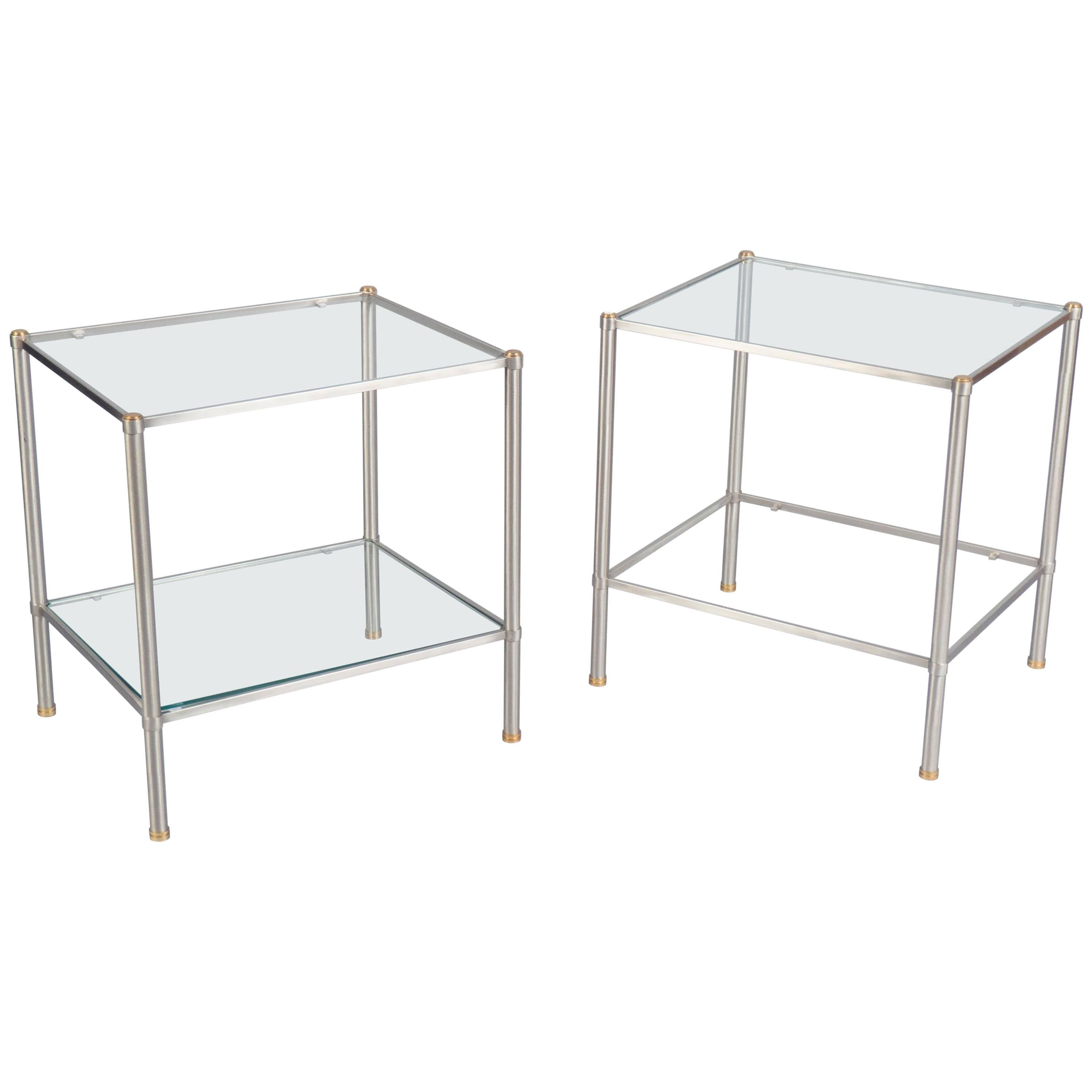 Pair of Side Tables, France, 1960s
