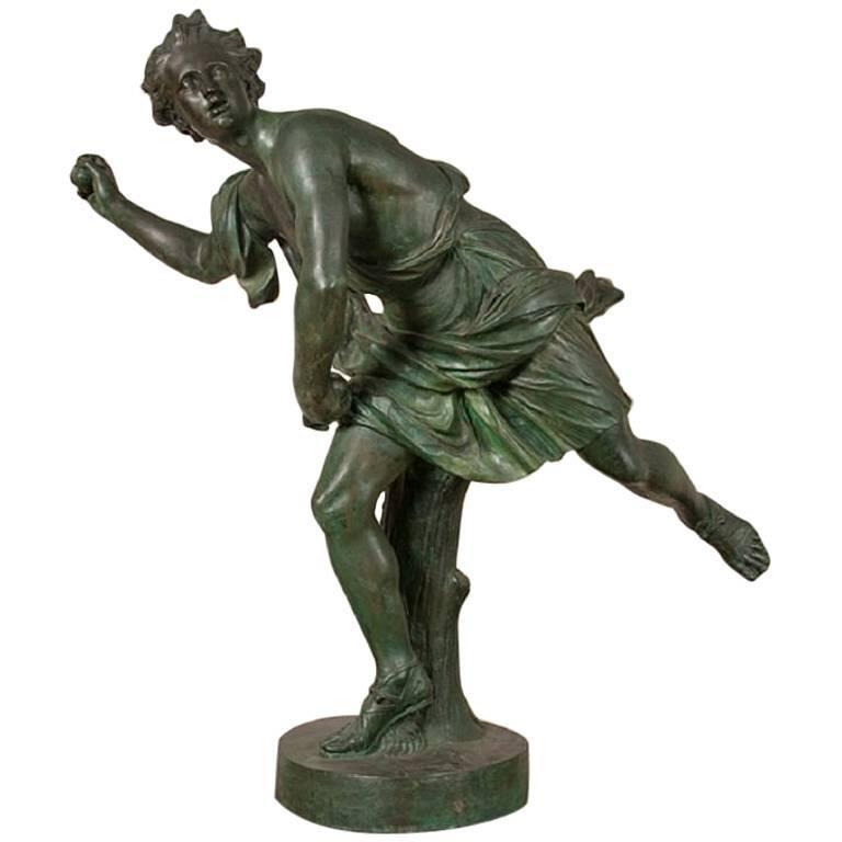 Large Bronze Statue of Hippomene