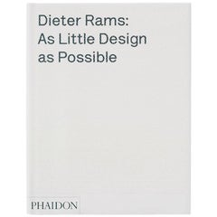 Dieter Rams As Little Design as Possible Buch Monographie