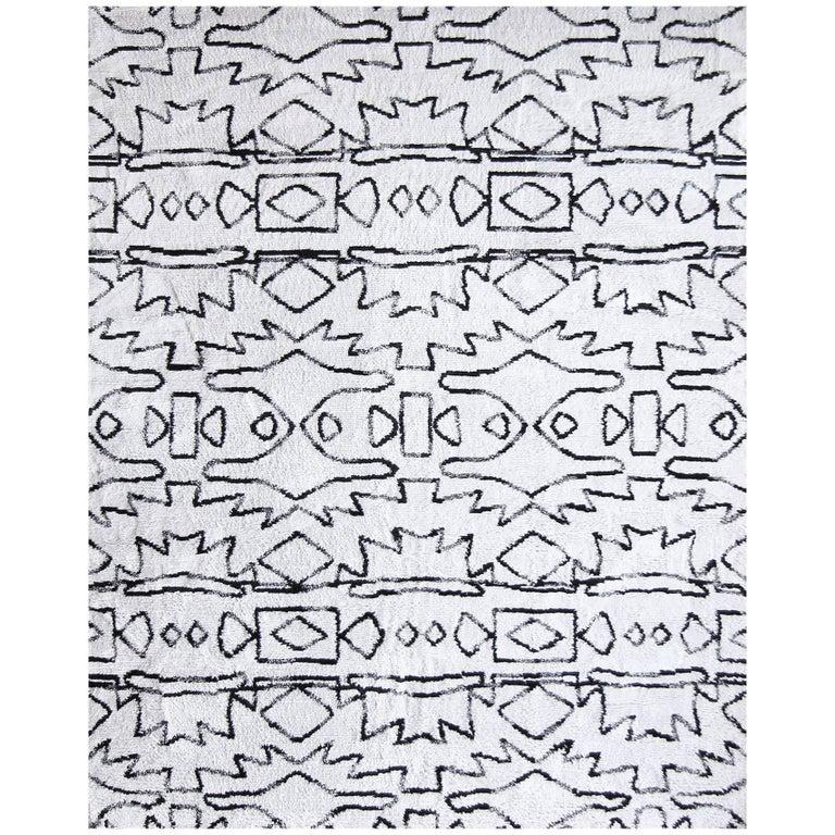 Eskayel, Akimbo Rug, 100% Silk Lulu Weave For Sale