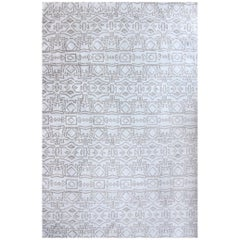 Eskayel, Akimbo, Hide Flat-Weave Rug