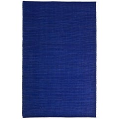 Tatami Indigo Wool and Jute Rug by Nani Marquina & Ariadna Miquel Large