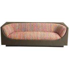 "Mid-Century Modern ""Cubo"" Sofa by Brazilian Designer Jorge Zalszupin, 1960's"