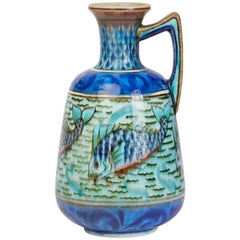 Burmantofts Faience Anglo-Persian Leonard King Vase, circa 1895