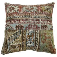 Patchwork Persian Rug Pillow