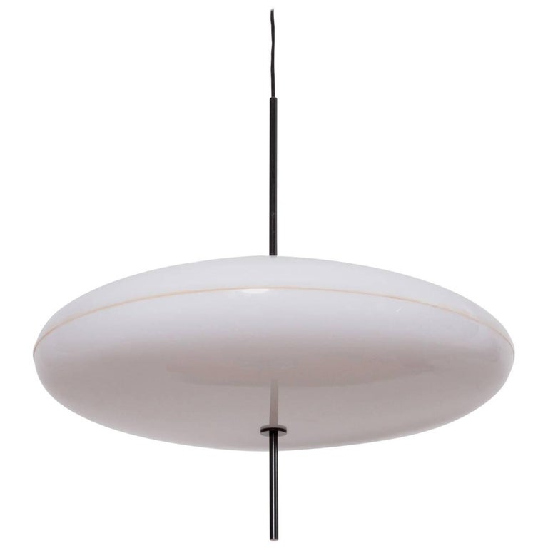 Gino Sarfatti Ceiling Light, Model No. 2065 GF for Arteluce