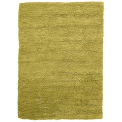 Velvet Pistachio Hand-Loomed Wool Rug by Nani Marquina in Stock