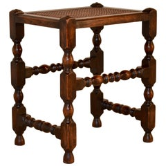 19th Century Cane Top Stool