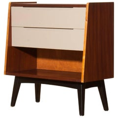 1960s, Teak Chest of Drawers Cabinet by 'Trio Collection' for Lahden Puutyö
