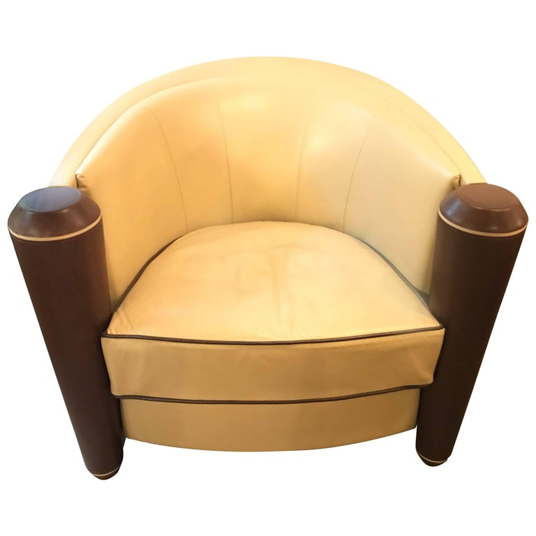 i4 Mariani Marnie Tub Chair by Adam Tihany for Pace Collection