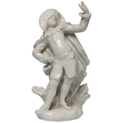 Doctor, from the Commedia Dell'arte, Bow Porcelain, circa 1752