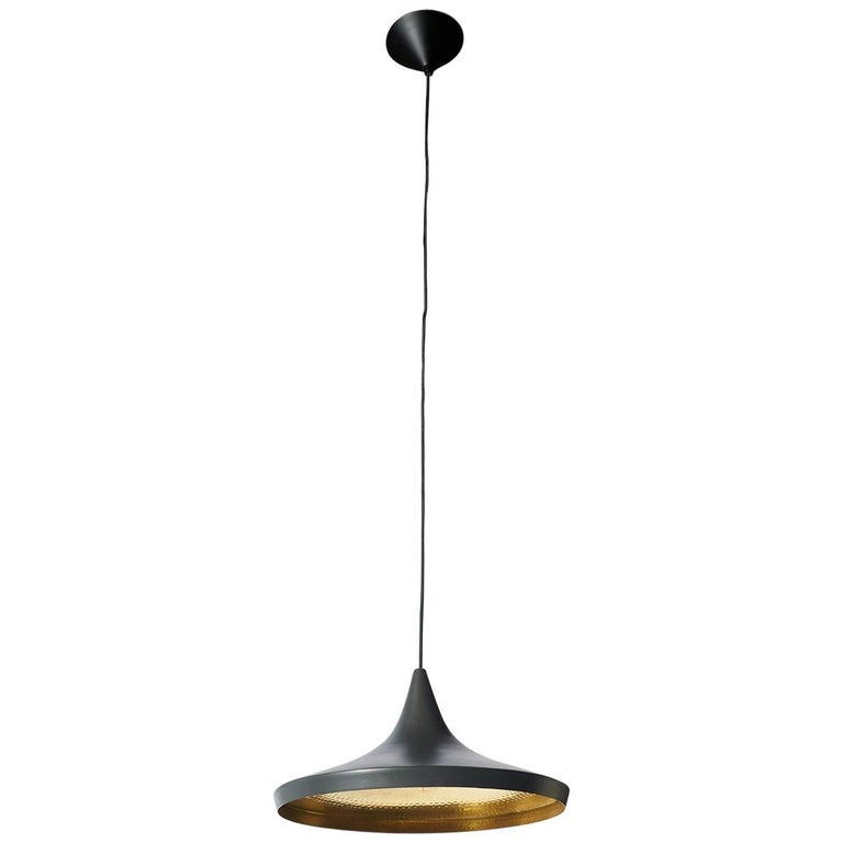 Black Pendant by Tom Dixon