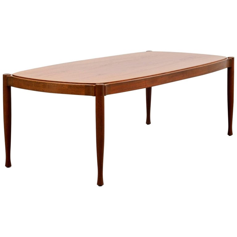 1960s Teak Coffee Table Scandinavian Style For Sale At 1stdibs