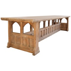 Important 20th Century English Neo-Gothic Table