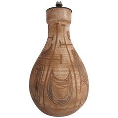 1960s French Ceramic Lamp