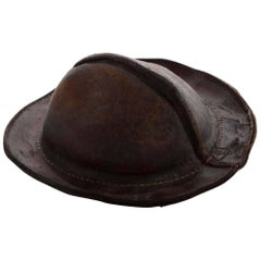 Early 19th Century Italian Leather Military Cap