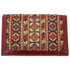Multicolored Handbag Clutch 1930s Eastern Europe