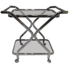 Milo Baughman DIA Styled Bar Cart / Trolly