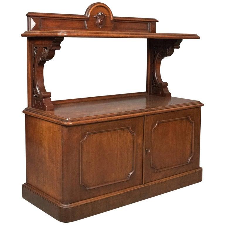Antique Buffet, Scottish Server Cabinet, Mahogany, Mid-Victorian, circa  1870 For - Antique Buffet, Scottish Server Cabinet, Mahogany, Mid-Victorian