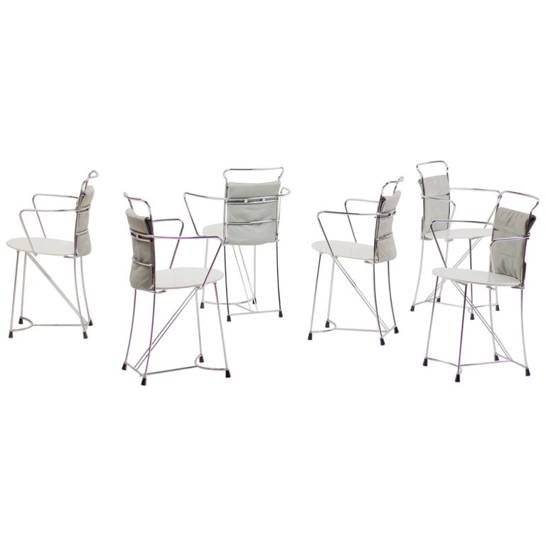 Set of Six Eridiana Dining Chairs by Antonio Citterio