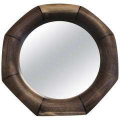 Custom Solid Walnut Mirror