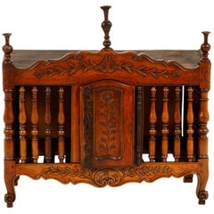 Antique French 'Panetiere', circa 1850