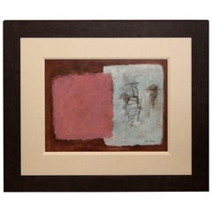 1972 Abstract by Boyer Gonzales Jr Noted Texas Artist