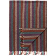 Color Stripe Blanket by Saved, New York