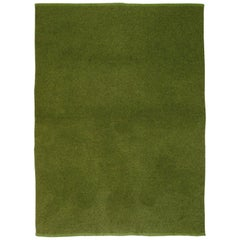 Moss Green Blanket by Saved, New York
