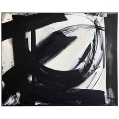B&W Abstract by Palm Springs Artist Donald Lloyd Smith