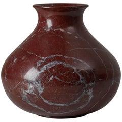 Oversize Italian Solid Marble Vase