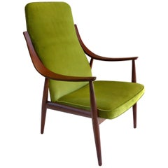Mid-Century Modern Chair by Peter Hvidt and Mølgaard Nielsen for France and Son