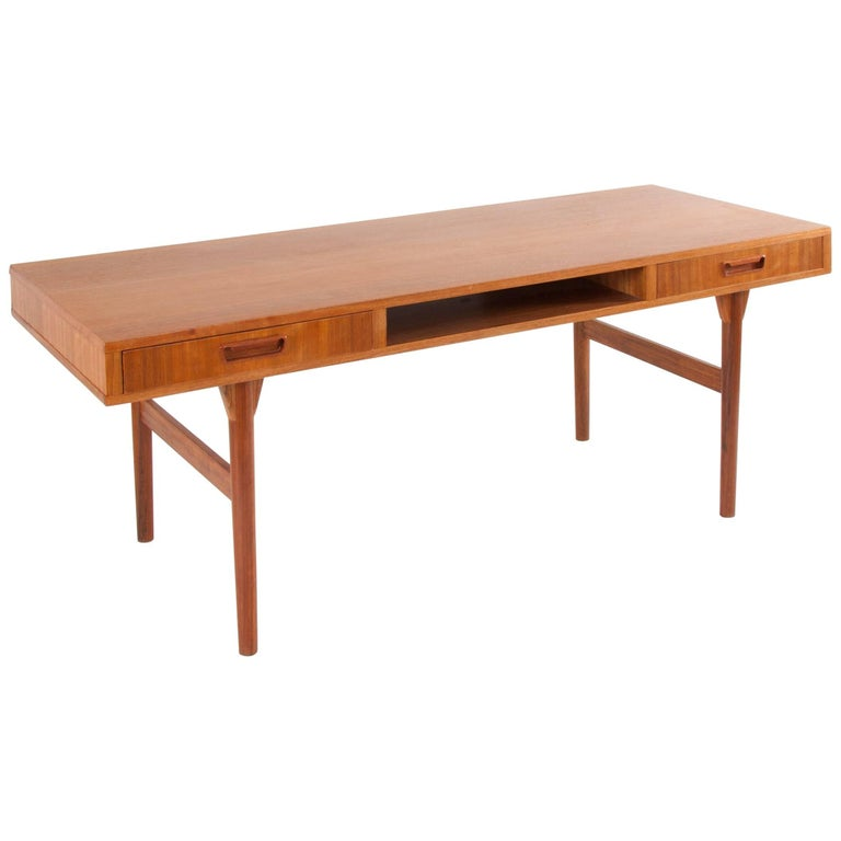 Teak Coffee Table With Drawers By Nanna Ditzel S Ren Willadsen Denmark 1950s For Sale At 1stdibs