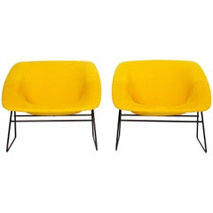 Corb Armchairs by A.R.P. Guariche Motte Mortier for Steiner France 1956 set of 2